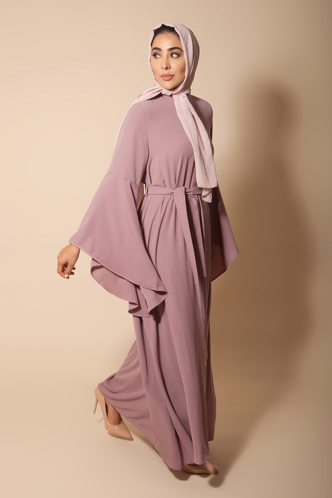 Flared Sleeve Maxi Lavender