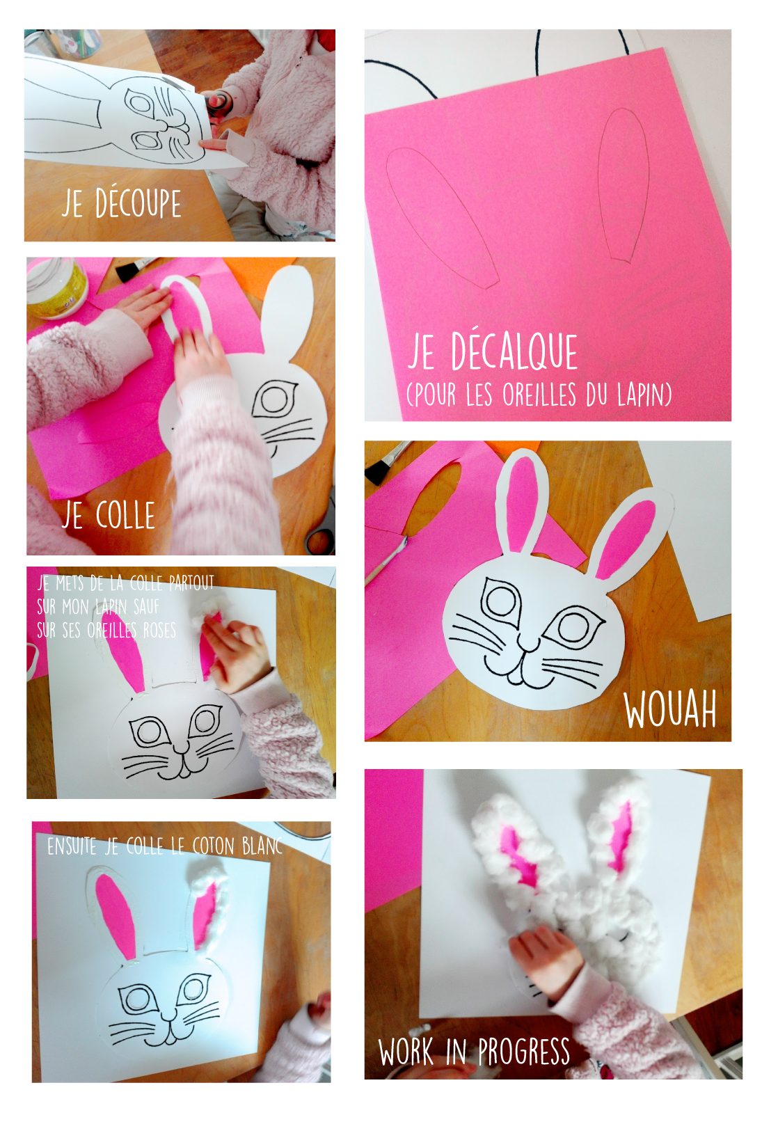 Comment faire un masque de lapin