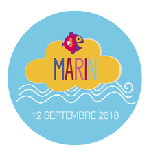 Magnet rond Marin