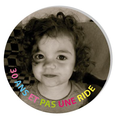 Badge aimant 30 ans - Faire Part Magnet