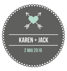 Badge Karen + Jack