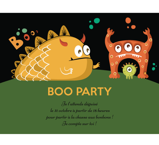 BOO PARTY halloween