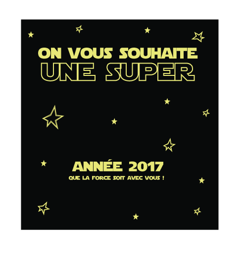 Carte a gratter star wars 2017