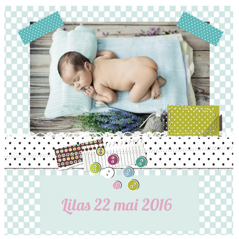 Faire-part Lilas