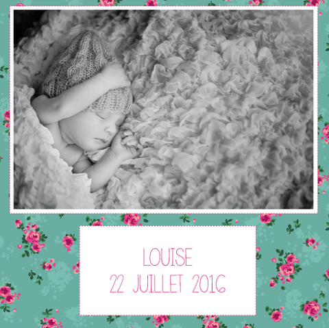 Faire-part Louise
