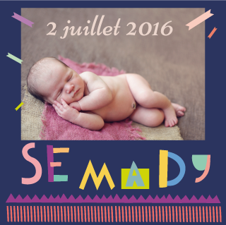 Faire-part Semady - Faire Part Magnet