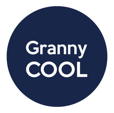 Badge annonce grossesse Granny cool