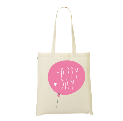 Tote bag happy day