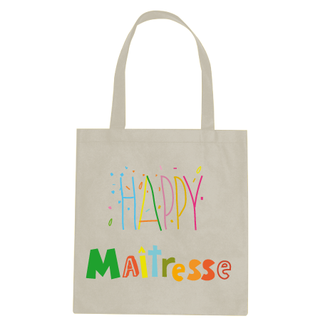 Tote Bag Happy Maîtresse