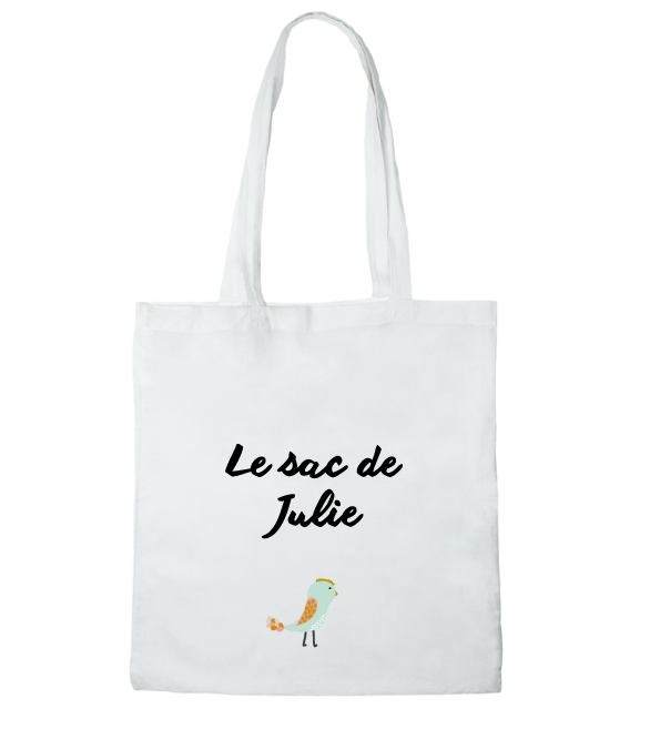 Tote bag le sac de Julie