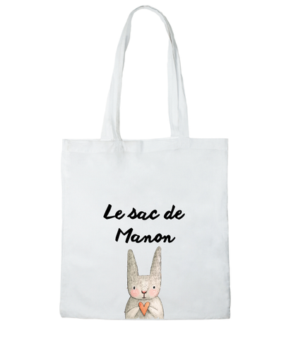 Tote bag le sac de Manon