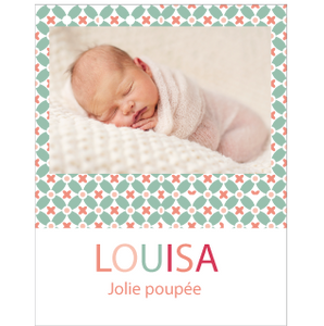 Faire-part Louisa - Faire Part Magnet  - 1