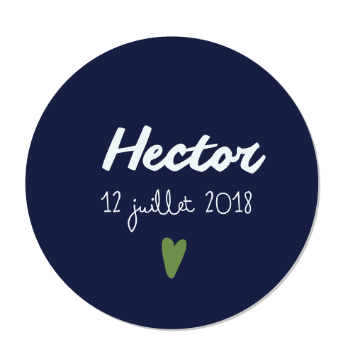 Magnet rond Hector