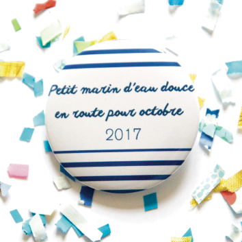 Badge marin d'eau douce