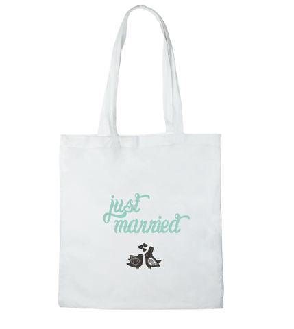 Tote bag mon sac Just a married