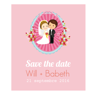 Save The Date Rose & Jack