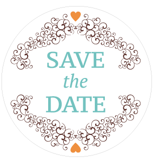 Sticker save the date - Faire Part Magnet