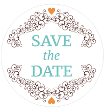 Sticker save the date