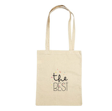 Tote bag cadeau témoin The best