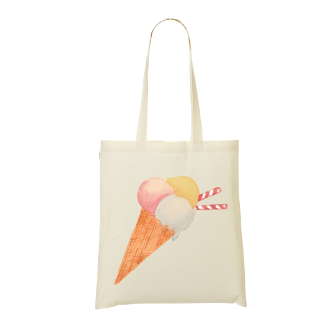 Tote bag glace