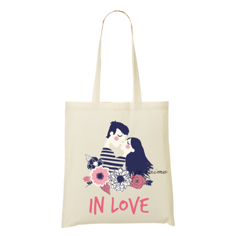 Tote bag in love