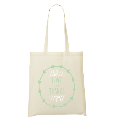 Tote bag love and thanks