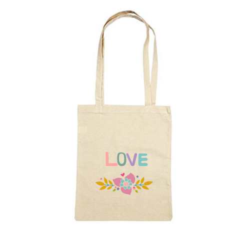 Tote bag cadeau love