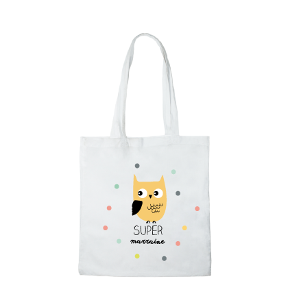 Tote bag Cadeau original Marraine
