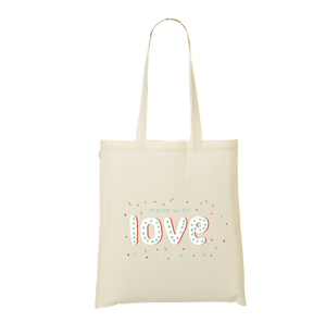 Tote bag made in love
