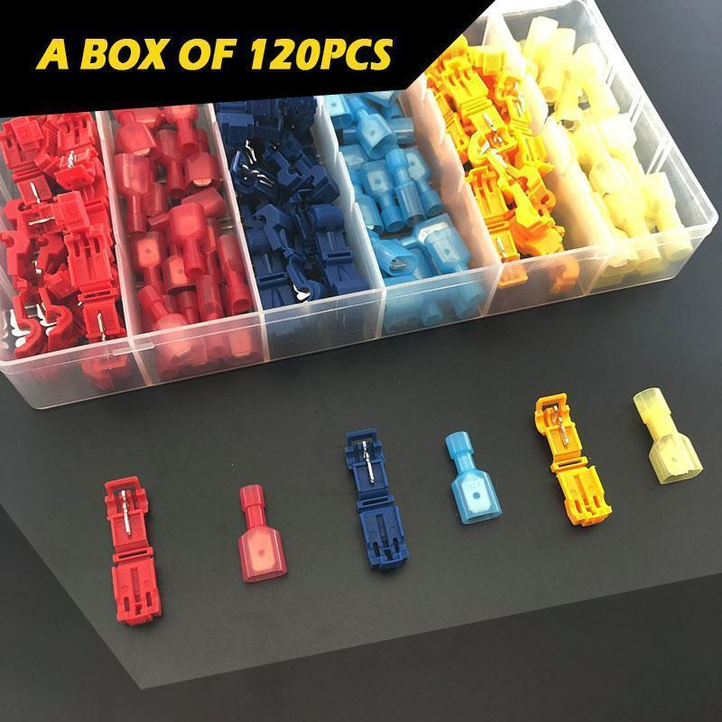 T-Type Quick Connection Terminal ( 100Pcs / 1 Set )
