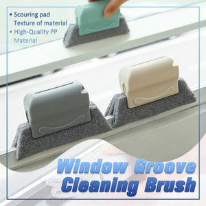 Creative Window Groove Cleaning Brush