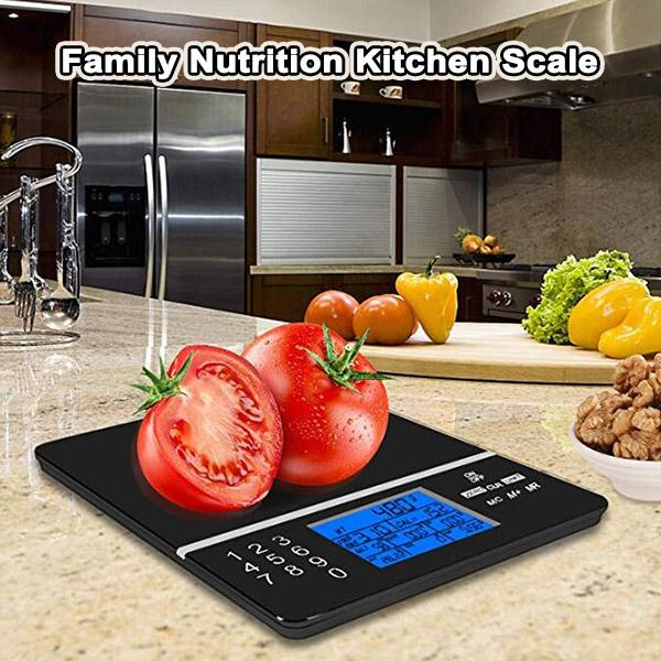 Family Nutrition Kitchen Scale