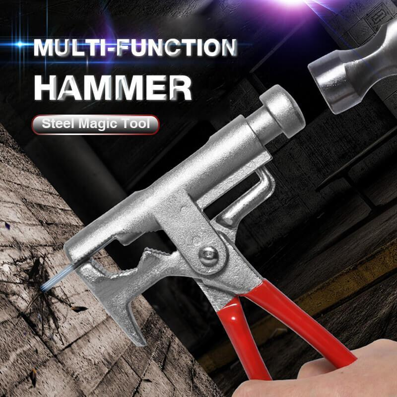 Multi-Function Hammer, Steel Magic Tool