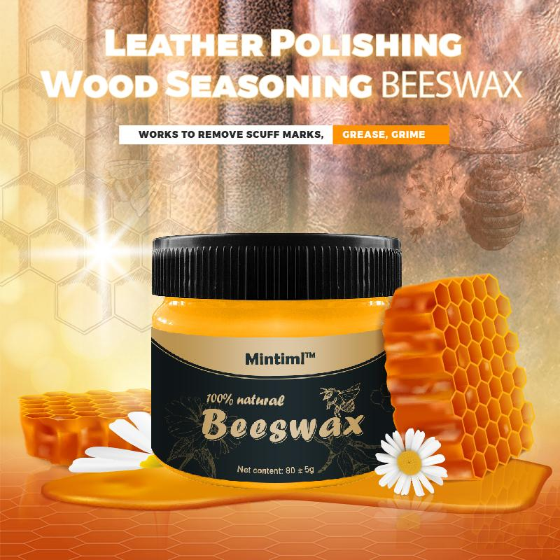 Leather Polishing Wood Seasoning Beeswax  ( BUY 2 FREE SHIPPING )