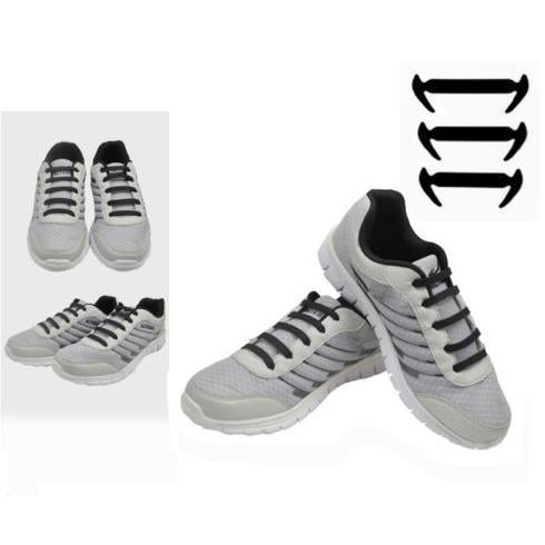 No Tie Silicone shoelace (16 Pcs / Set)