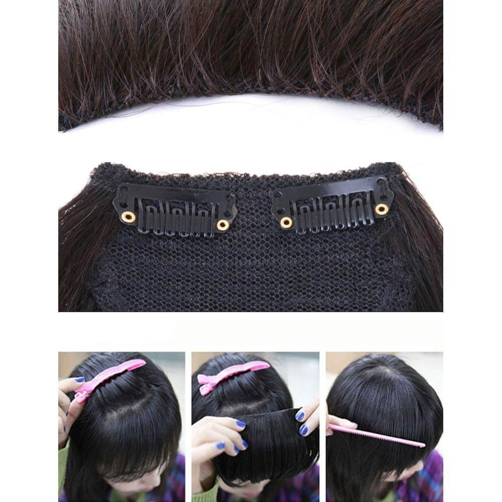 【New Year Special Prices】Front Bang Fringe Hair Extension Piece (Buy 2 Get 1 Free)