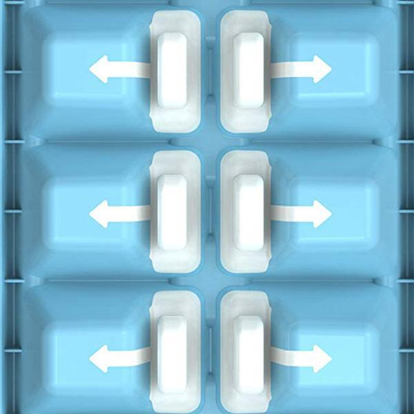 Easy-Release Ice Cube Tray