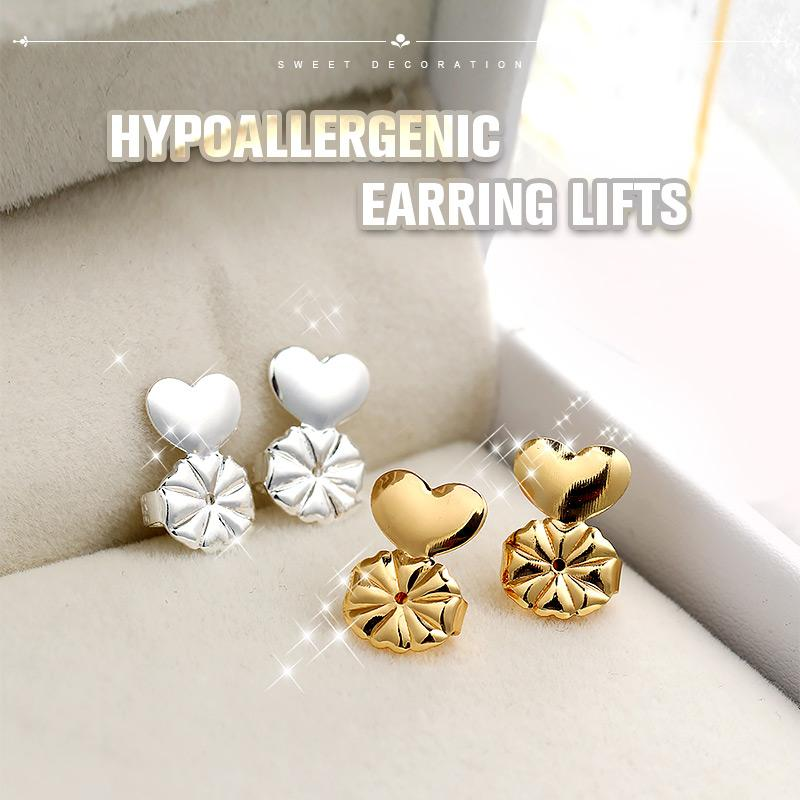 Hypoallergenic Earring Lifts (1 Pair)