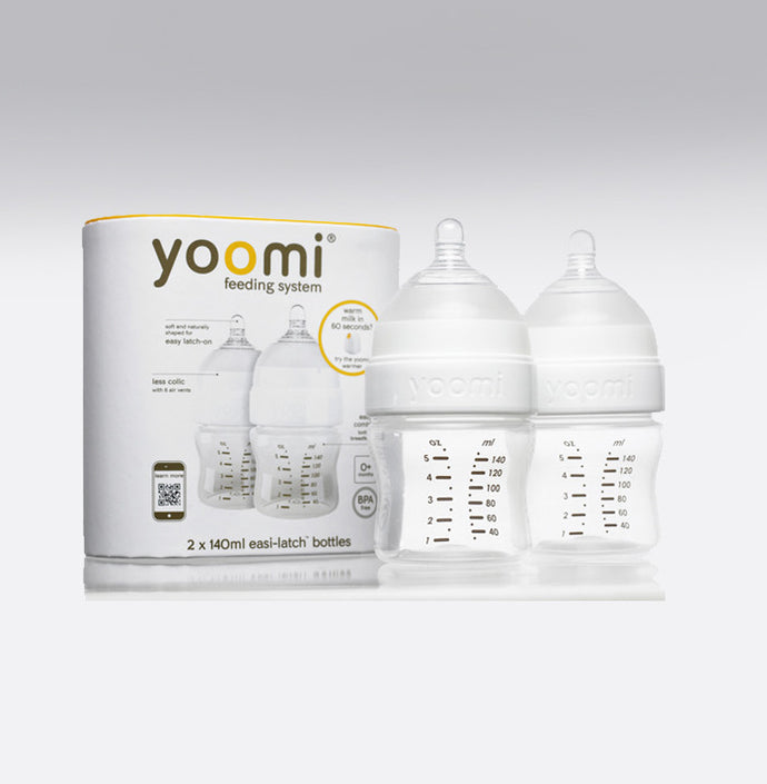 Yoomi 5oz Milk Bottle Double Pack