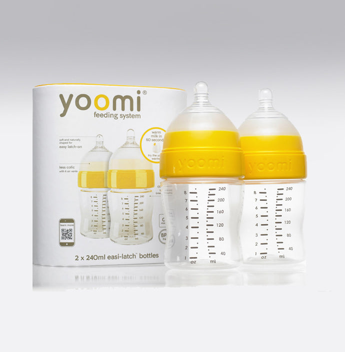 Yoomi 8oz Milk Bottle Double Pack