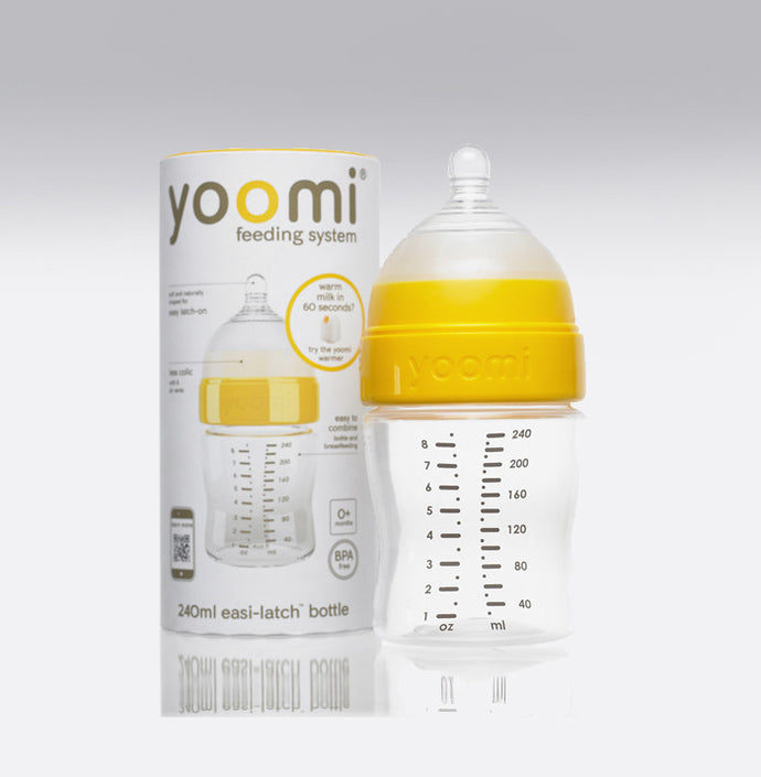 Yoomi 8oz Milk Bottle