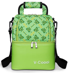 V-Coool Double Layer Cooler Bag - Flower