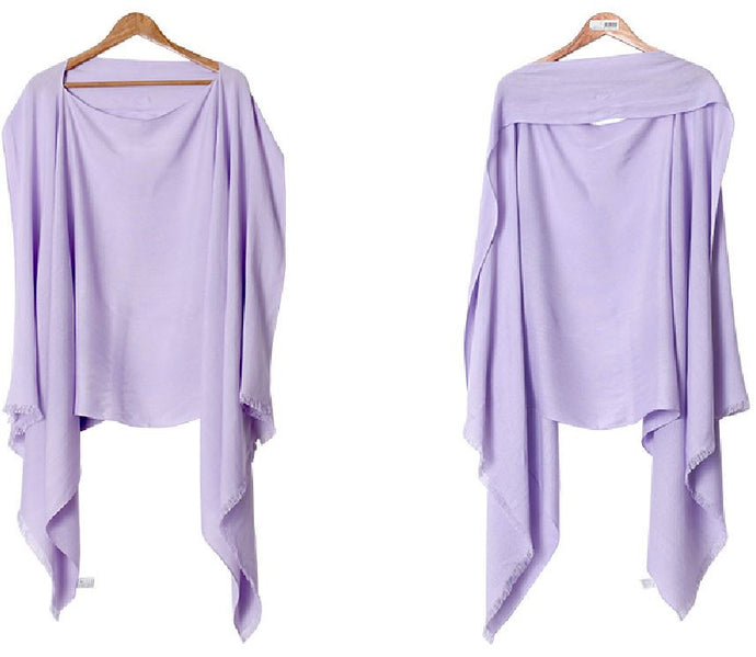 V-Coool Nursing Shawl (Purple)