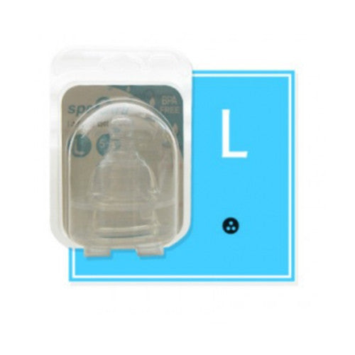 Spectra Teat for Wide Neck Bottle (Pack of 2) - L