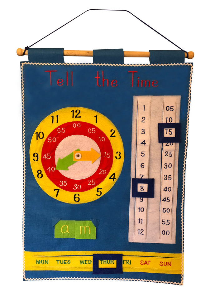 Smart Mama Tell the Time Chart