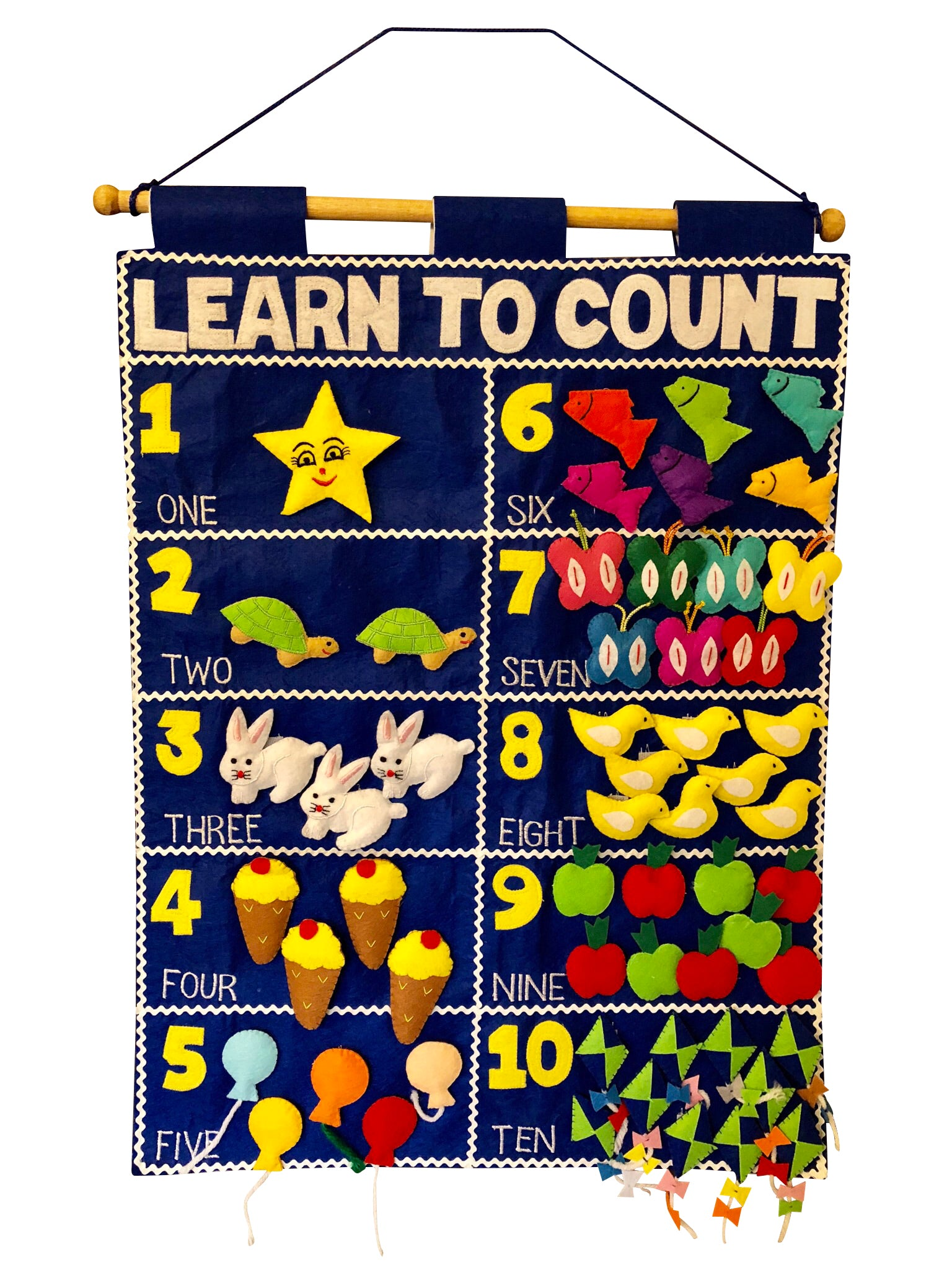 Smart Mama Learn to Count Chart