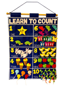 Learn to Count Chart