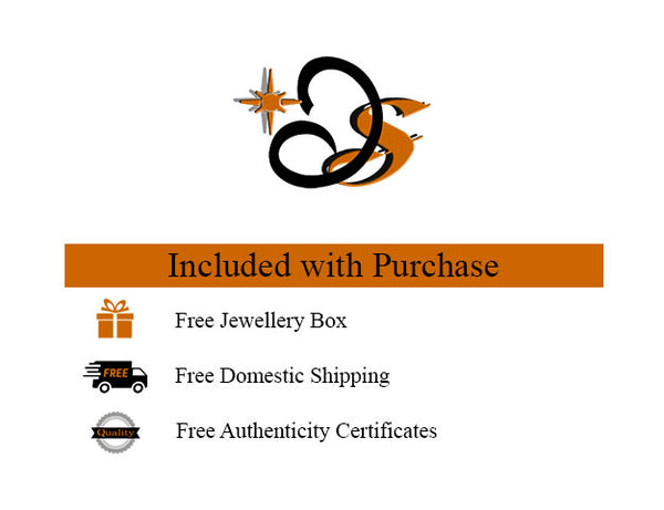 On Purchase Free Shipping; Free Authenticity Certificates; Free Jewellery Box
