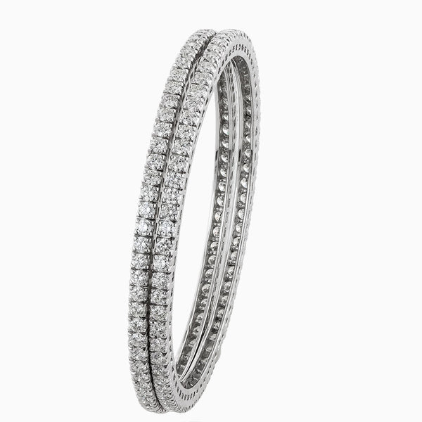 BNG0005 5 Pointer Eternity Diamond Bangle