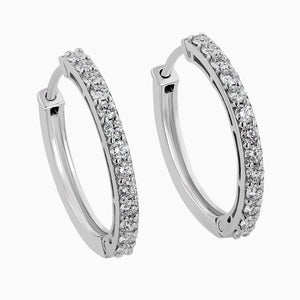 ERB0071 Single Row Diamond Earrings